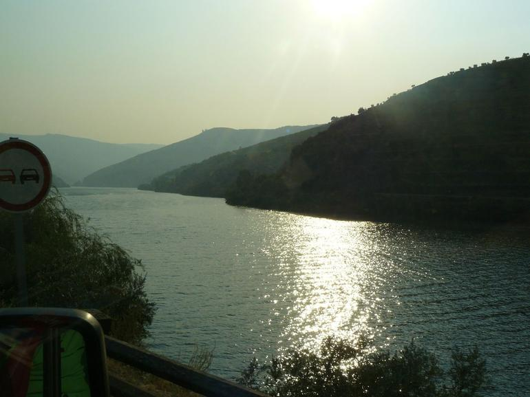 Evening landscape of Douro valley - Porto