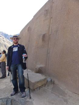 Incan temple walls at Ollantaytambo. , Thomas S - June 2011