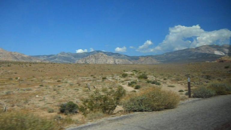 Landscape from the Bus - Las Vegas