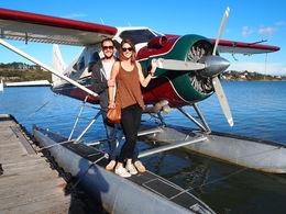 Our plane!, Rachel - November 2014
