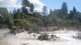 Visiting the hot springs , Kayla J - April 2014