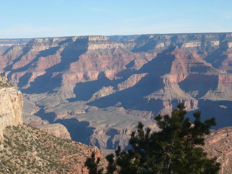 South rim Grand Canyon - Las Vegas