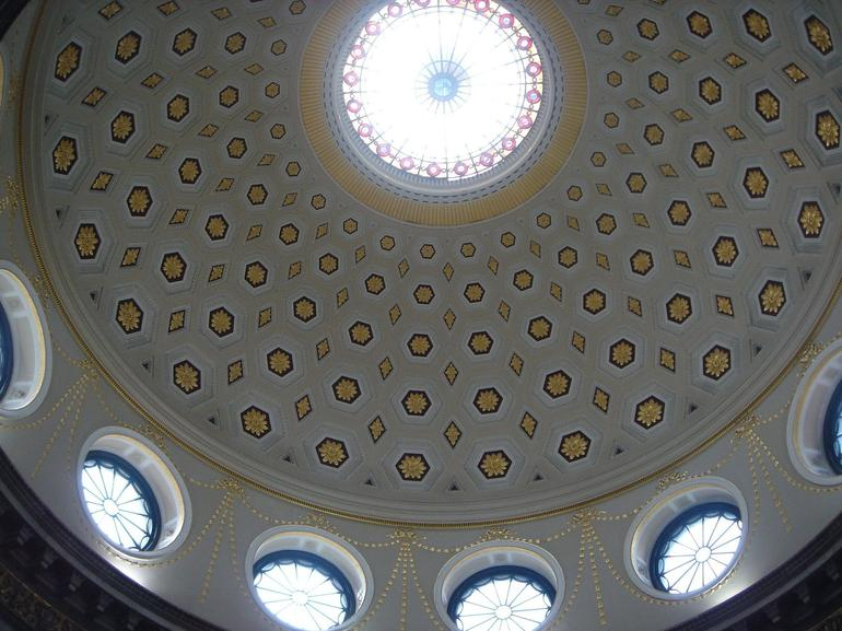 The dome of Dublin City Hall -
