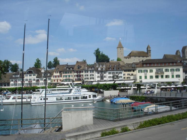The lake in Lucerne - Zurich