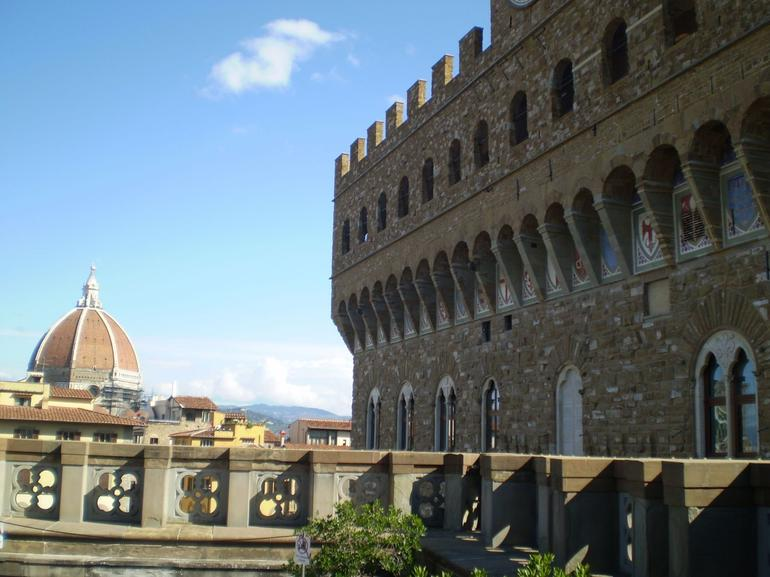 View from Uffizi Gallery, Florence - Florence