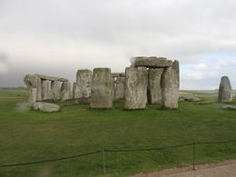 Stonehenge from outside the roped off area , Nana - May 2017