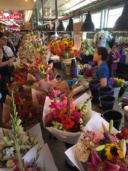 The flowers in the market are amazing. , Kimberly L - August 2017