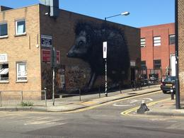 ROA mural in East London, AlexB - September 2013