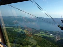 The view from the cable car going up the mountain , RuBaby - July 2013