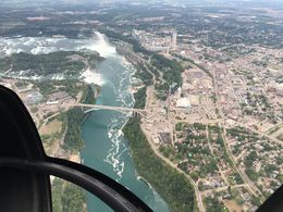 Flying above the falls. , Book373 - August 2016