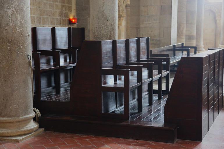 Inside Sant' Antimo Abbey - Rome