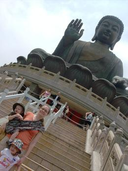 Big Buddha statue. The tour allowed us to skip the stairs. , John C - May 2011