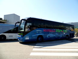 Bus from airport , Dainis K - May 2013