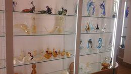 Exhibicion de artesanias en vidrio que se realizan en el mismo lugar. , marcelozaffaroni - June 2015