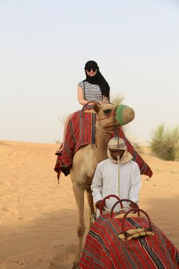 I opted to ride the camel instead of the landrover. I found it to be very peaceful and was able to take it all in , Nicola S - August 2016