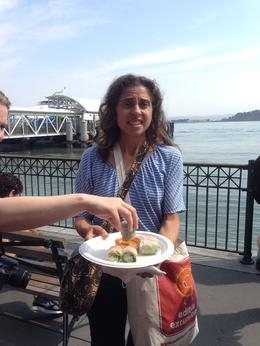 Food with a view! , Susan M - August 2014