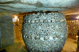 This is a pillar of bones that has been reinforced. , Jeff L - September 2014