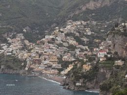Lunch down in the seaside town of Positano. Wonderful lunch. little shops and galleries to browse , STEFANIE S - June 2015