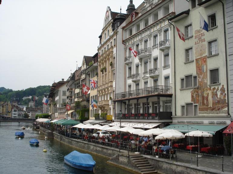 River in Lucerne - Zurich