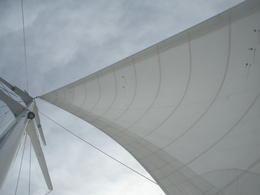 The sails of our boat..., JennyC - August 2011