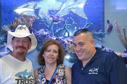 With Robbie Redneck and Wayde from Tanked, charley - September 2012