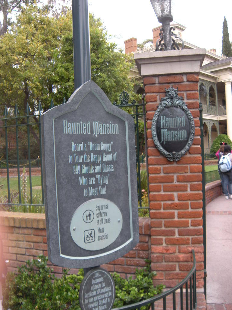 The Haunted Mansion - Las Vegas