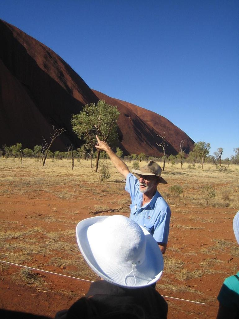 The tour guide - Ayers Rock