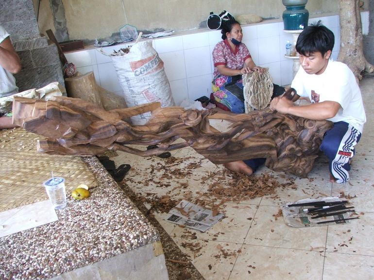 Wood Carvers - Bali