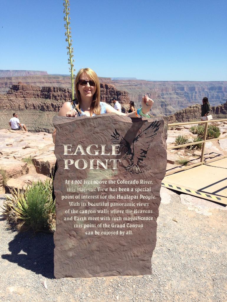 Grand Canyon West Rim Day Trip by Coach with Heli Landing and Optional Skywalk