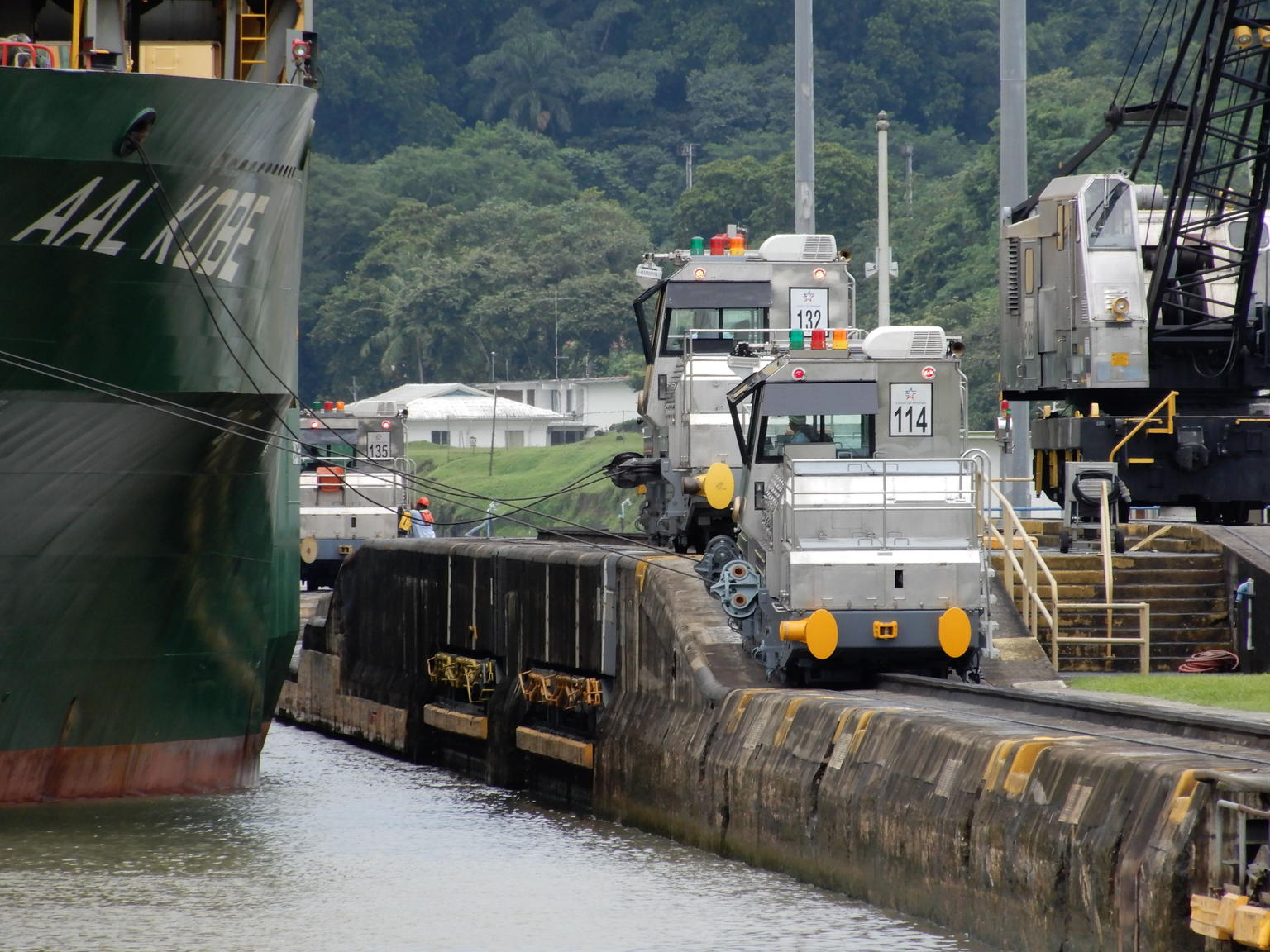 MÁS FOTOS, Panama Canal Partial Tour - Southbound Direction