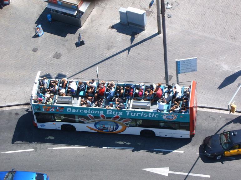 Barcelona tour bus - Barcelona
