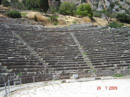 The ancient theatre, Olivia Z - August 2009