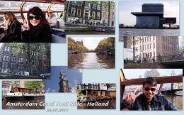 Amsterdam Canal Boat Ride , Alexander Y - November 2011