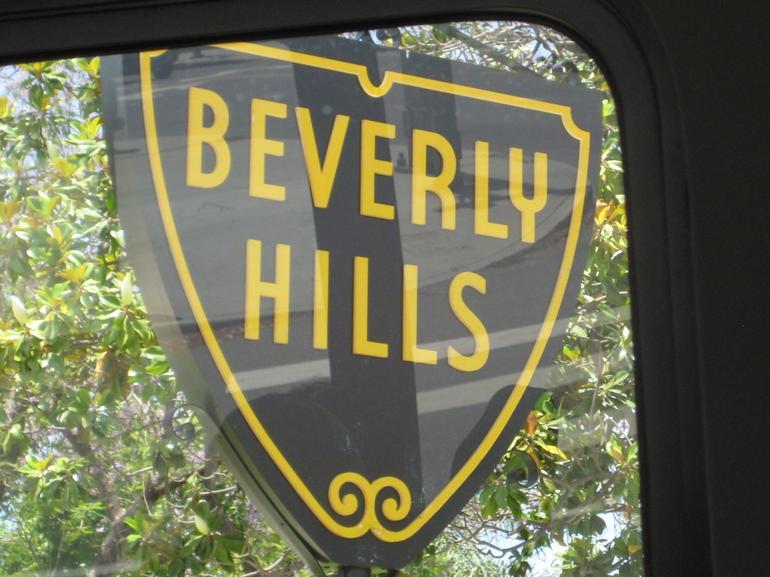 iconic bev hills sign - Anaheim & Buena Park