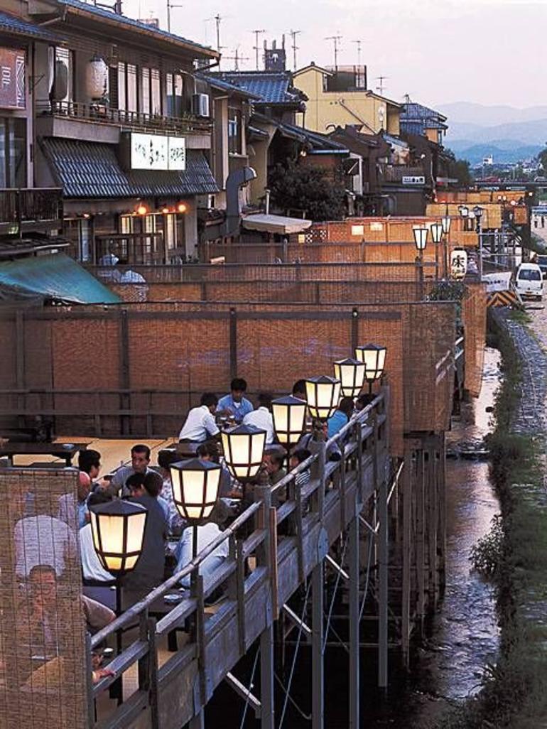 Kamo River Yuka - Kyoto