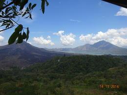 a view of Mount Batur and Lake Batur , satish chandra - November 2014