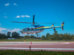 Helicopter Taking Off - July 2013