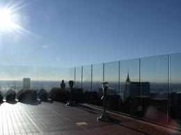 Top of the Rock, top of New York, alone on the deck at 9 AM....so quiet and nice! Loved it!, Eric T - December 2010