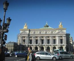 Paris Opera House, from shuttle ride, Albert R - November 2009