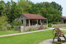 The property still houses the original slave cabins that were used during the operation of this plantation., World Traveler - October 2014
