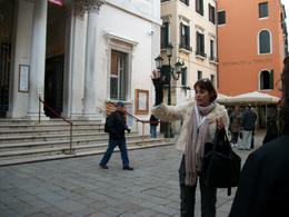 Our guide giving us interesting info of the way of life in Venice. Fascinating! , Ed & Barb - February 2013