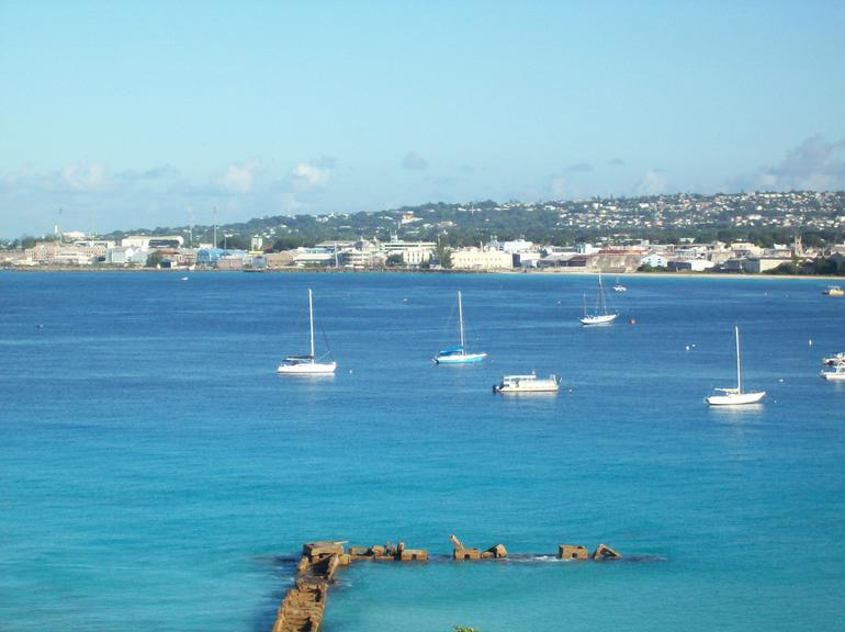 View from Our Hotel Room - Barbados