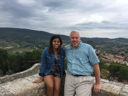 San Giminiano - me and my daughter , John F - November 2016