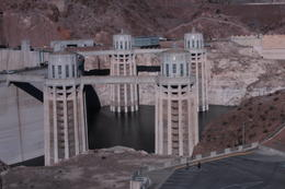 Intake towers for Hoover Dam , Robert D - November 2016