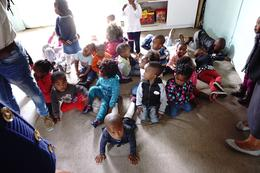 The children in the preschool in the shanties. , keligyrl - November 2016
