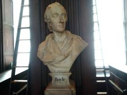 One of the notable busts in the Long Room , Boris G - August 2017
