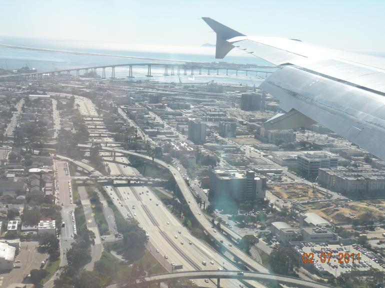 Aerial view of San Diego - San Diego