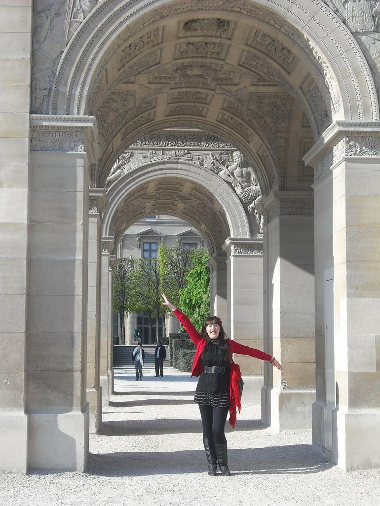 Arch De Carousel - Paris