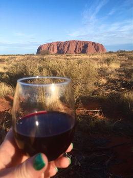 Cheers from Uluru. , Sylvia M - November 2015