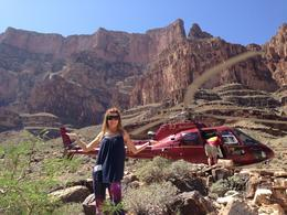 My wife - Landing at the Colorado River! , Marcelo M - June 2013